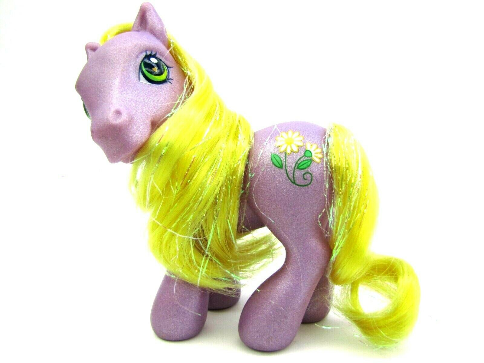2003 My Little Pony Generation 3 Glitter Pony Tinsel Hair DAISYJO Very Nice